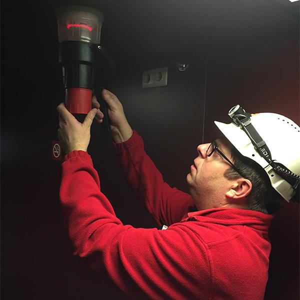 Service fire detection eltek